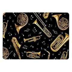 Instrument Saxophone Jazz Samsung Galaxy Tab 10.1  P7500 Flip Case