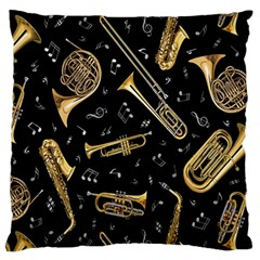 Instrument Saxophone Jazz Standard Flano Cushion Case (Two Sides)