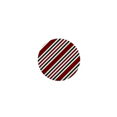 Line Christmas Stripes 1  Mini Buttons