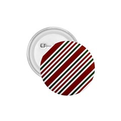 Line Christmas Stripes 1.75  Buttons