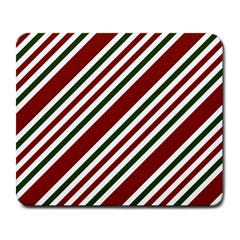 Line Christmas Stripes Large Mousepads