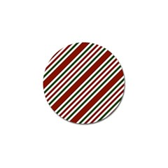 Line Christmas Stripes Golf Ball Marker (10 pack)