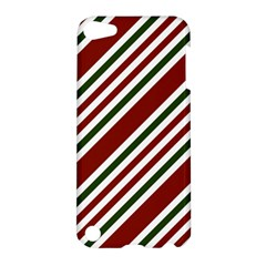 Line Christmas Stripes Apple iPod Touch 5 Hardshell Case