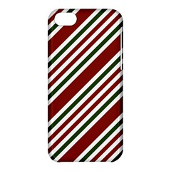 Line Christmas Stripes Apple iPhone 5C Hardshell Case