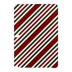 Line Christmas Stripes Samsung Galaxy Tab Pro 10.1 Hardshell Case