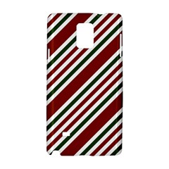 Line Christmas Stripes Samsung Galaxy Note 4 Hardshell Case