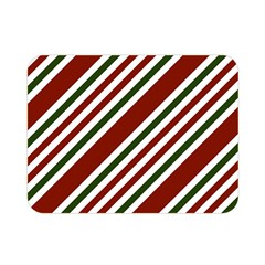 Line Christmas Stripes Double Sided Flano Blanket (Mini)