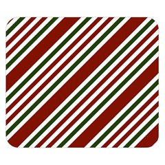 Line Christmas Stripes Double Sided Flano Blanket (Small)