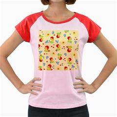 Lion Animals Sun Women s Cap Sleeve T-Shirt
