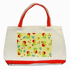 Lion Animals Sun Classic Tote Bag (Red)
