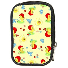 Lion Animals Sun Compact Camera Cases