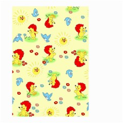 Lion Animals Sun Small Garden Flag (Two Sides)