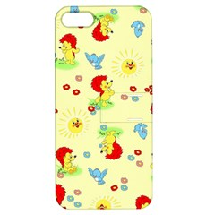 Lion Animals Sun Apple iPhone 5 Hardshell Case with Stand