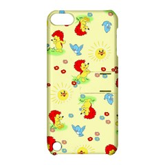 Lion Animals Sun Apple iPod Touch 5 Hardshell Case with Stand
