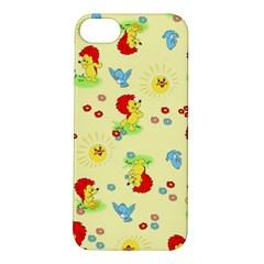 Lion Animals Sun Apple iPhone 5S/ SE Hardshell Case