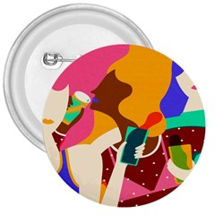 Girl Colorful Copy 3  Buttons