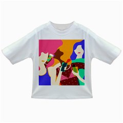 Girl Colorful Copy Infant/Toddler T-Shirts