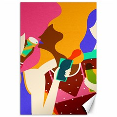 Girl Colorful Copy Canvas 20  x 30