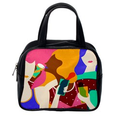 Girl Colorful Copy Classic Handbags (One Side)