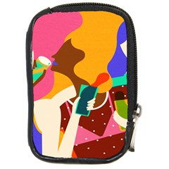 Girl Colorful Copy Compact Camera Cases
