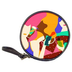 Girl Colorful Copy Classic 20-CD Wallets