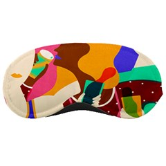 Girl Colorful Copy Sleeping Masks