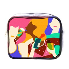 Girl Colorful Copy Mini Toiletries Bags