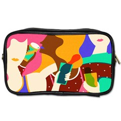 Girl Colorful Copy Toiletries Bags 2-Side