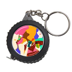 Girl Colorful Copy Measuring Tapes