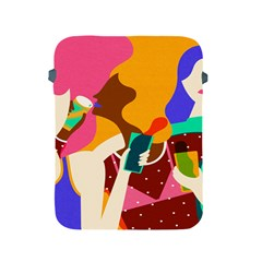 Girl Colorful Copy Apple iPad 2/3/4 Protective Soft Cases