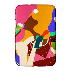 Girl Colorful Copy Samsung Galaxy Note 8.0 N5100 Hardshell Case