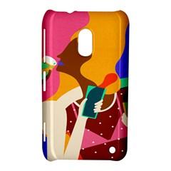 Girl Colorful Copy Nokia Lumia 620