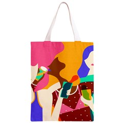 Girl Colorful Copy Classic Light Tote Bag