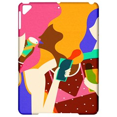 Girl Colorful Copy Apple Ipad Pro 9 7   Hardshell Case