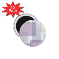 Abstract Background Pattern Design 1.75  Magnets (10 pack)