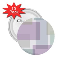 Abstract Background Pattern Design 2.25  Buttons (10 pack)