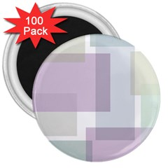 Abstract Background Pattern Design 3  Magnets (100 pack)