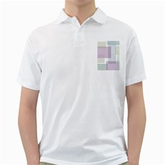 Abstract Background Pattern Design Golf Shirts