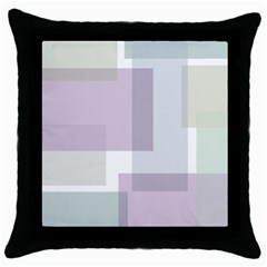 Abstract Background Pattern Design Throw Pillow Case (Black)