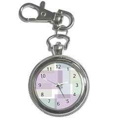 Abstract Background Pattern Design Key Chain Watches
