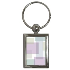 Abstract Background Pattern Design Key Chains (Rectangle)