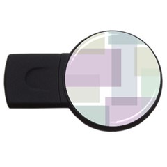 Abstract Background Pattern Design USB Flash Drive Round (2 GB)