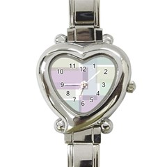Abstract Background Pattern Design Heart Italian Charm Watch