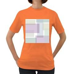 Abstract Background Pattern Design Women s Dark T-Shirt