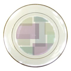 Abstract Background Pattern Design Porcelain Plates