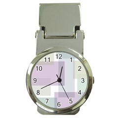 Abstract Background Pattern Design Money Clip Watches