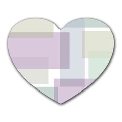 Abstract Background Pattern Design Heart Mousepads