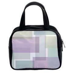 Abstract Background Pattern Design Classic Handbags (2 Sides)