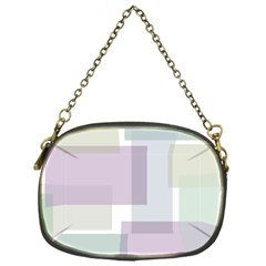 Abstract Background Pattern Design Chain Purses (One Side)