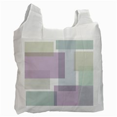 Abstract Background Pattern Design Recycle Bag (One Side)